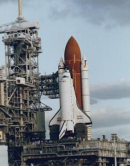 Space Shuttle at Kennedy Space Center, Cape Canaveral, Florida