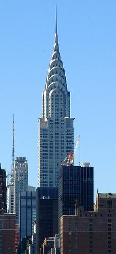 Chrysler Building in New York City, New York