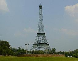Eiffel Tower Replica in Paris, Tennessee