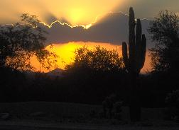Sunset in Scottsdale, Arizona
