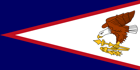 American Samoa Flag - pictures and information about the flag of American Samoa