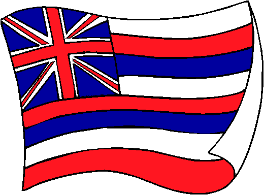 Hawaii Flag - pictures and information about the flag of Hawaii