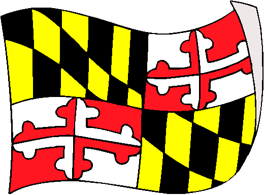 Maryland Flag - pictures and information about the flag of Maryland