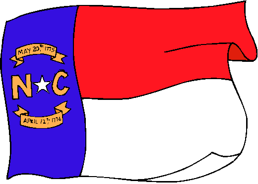 North Carolina Flag - pictures and information about the flag of North Carolina