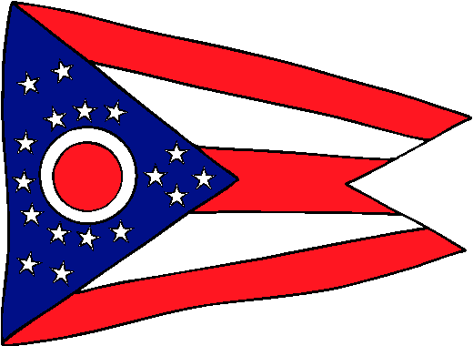 Ohio Flag - pictures and information about the flag of Ohio
