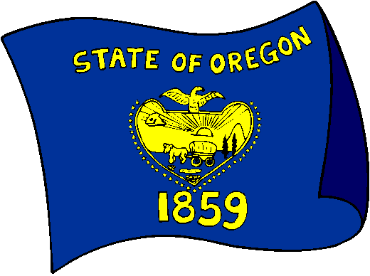 Oregon Flag - pictures and information about the flag of Oregon
