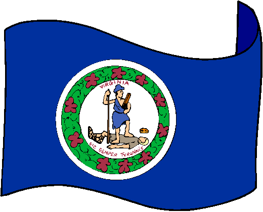 Virginia Flag - pictures and information about the flag of Virginia