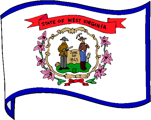West Virginia Flag - pictures and information about the flag of West Virginia