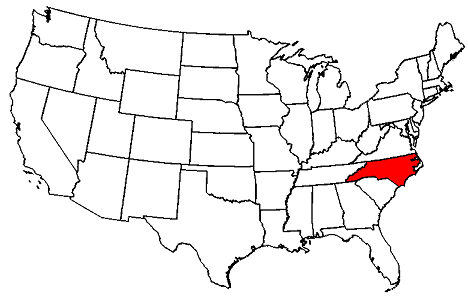 North Carolina location