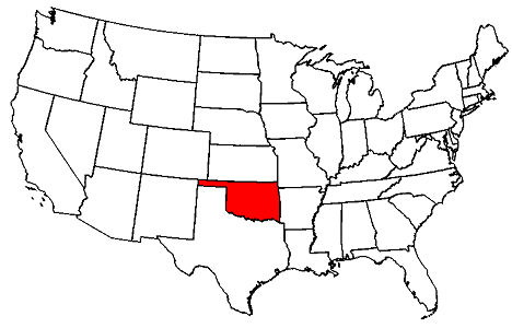 Oklahoma location