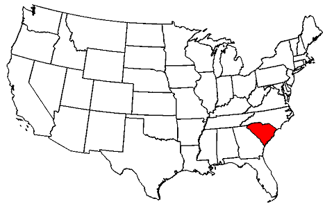 South Carolina location