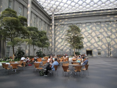 Robert and Arlene Kogod Courtyard at the National Portrait Gallery