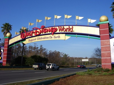 Walt Disney World Resort Entrance