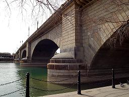 London Bridge in Lake Havasu City, Arizona