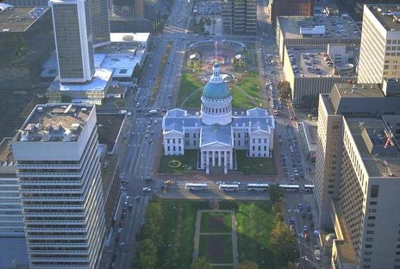 State Capitol in Jefferson City, Missouri