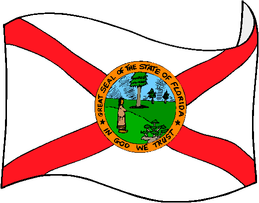Florida Flag - pictures and information about the flag of Florida