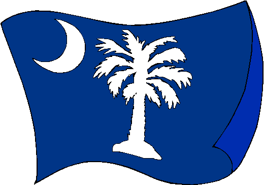 South Carolina Flag - pictures and information about the flag of South Carolina