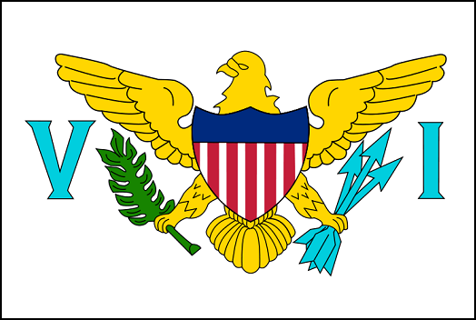 Virgin Islands Flag - pictures and information about the flag of the Virgin Islands