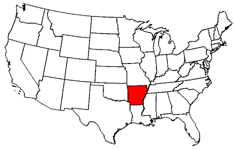 Arkansas location