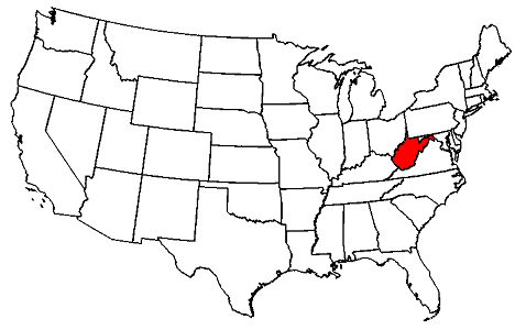 West Virginia location